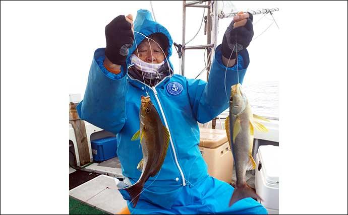 【玄界灘】沖のエサ釣り最新釣果 エビラバやテンビン五目で大ダイ登場