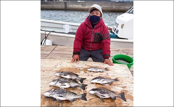 【三重】カカリ釣り最新釣果 乗っ込み間近で年無しクロダイ各地で続々