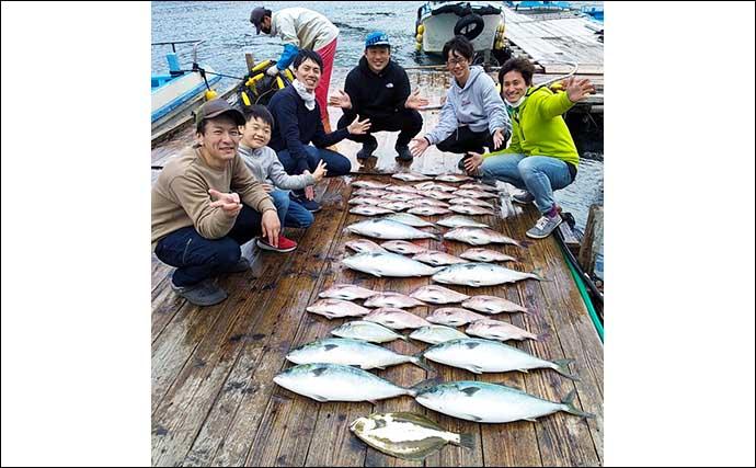 【三重】海上釣り堀最新釣果 ファミリーフィッシングで大型魚キャッチ