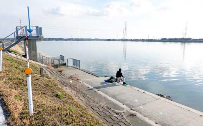 今週のヘラブナ推薦釣り場【茨城県・鰐川/徳島排水機場前】
