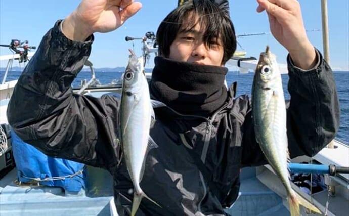 【2021】相模湾『ビシアジ』釣り初心者入門 泳がせで大物狙いも面白い