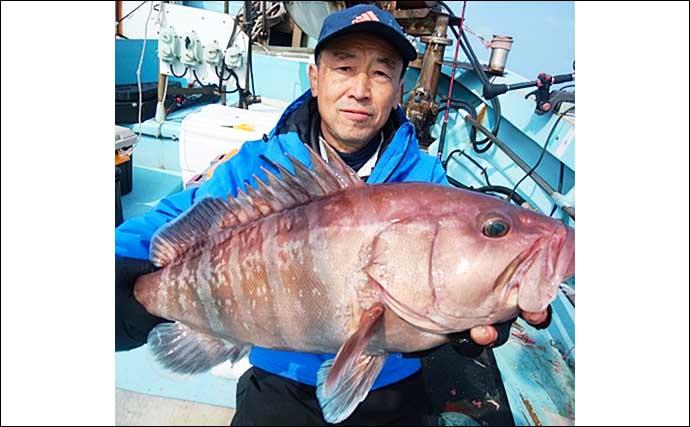 【玄界灘】沖のエサ釣り最新釣果 五目釣りでタカバにアマダイと多彩
