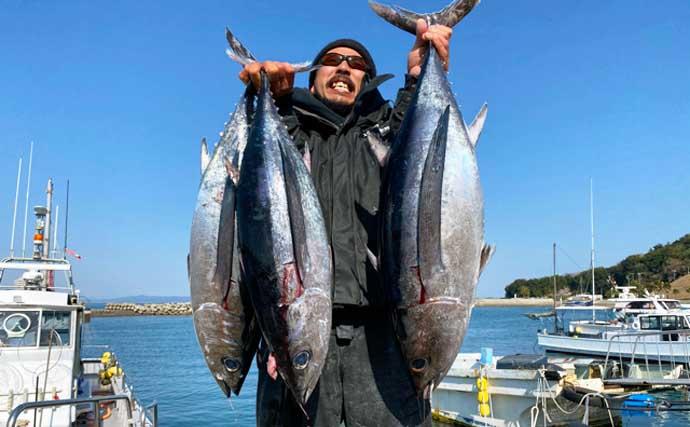 【愛知・三重】沖のルアー最新釣果 トンジギ船で40㎏超キハダマグロ登場