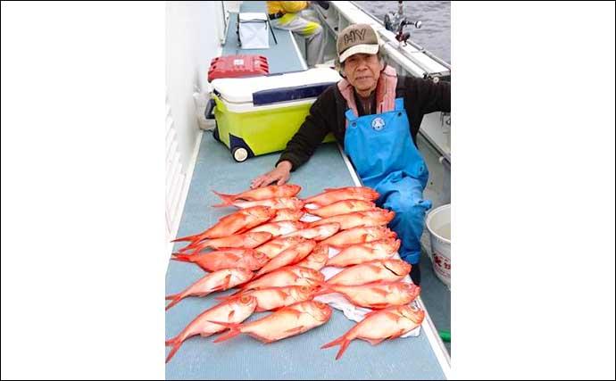 【神奈川・東京】沖釣り最新釣果 寝坊OKの14時半出船LTアジがお手軽