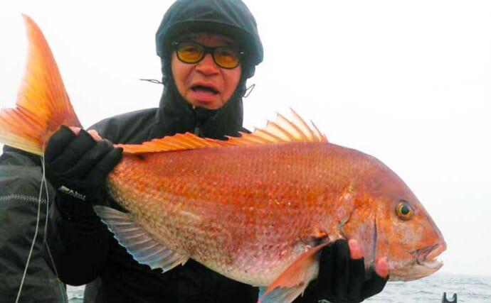 【福岡】沖のルアー最新釣果 桜ダイシーズン本格化でタイラバに熱視線