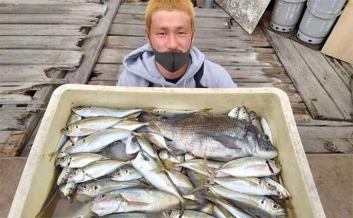 週末ナニ釣れた?沖釣り速報:東京湾LTアジ好調で100匹超え【関東】