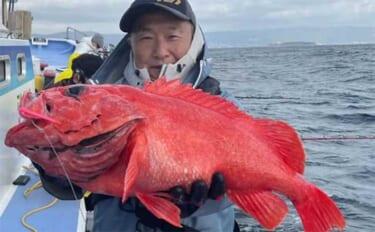 今日ナニ釣れた? 沖釣り速報:真鶴の深海ベニアコウ大当たり!【関東】