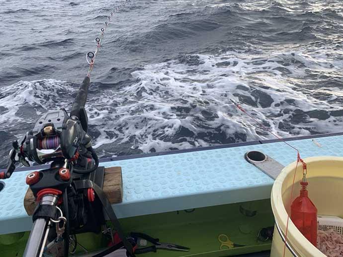 沖のコマセ五目釣り豊漁 速潮時の「1旋回1投入」攻略法は?【秀吉丸】