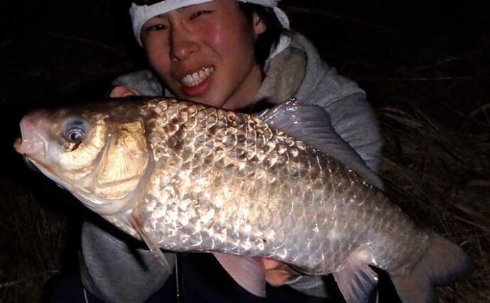 【新潟2021】冬に楽しむ巨ブナ釣りのススメ 「水門」周りが狙い目