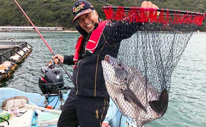 カセからのアジ釣りにてブリ襲来に驚愕 56cm大型チヌも浮上【大分】