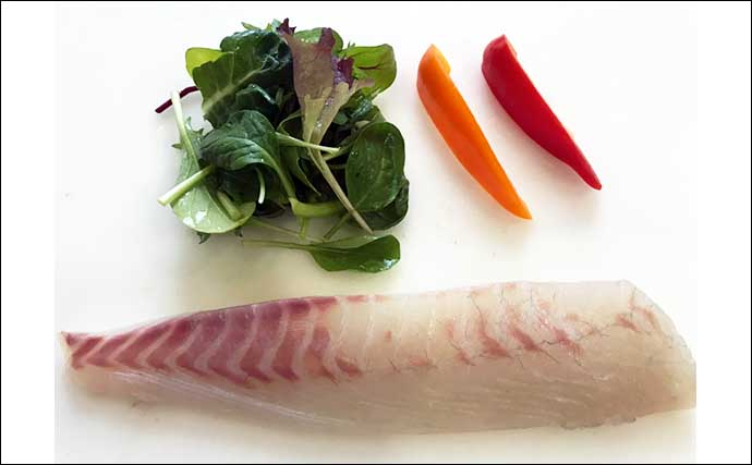 釣り人的「低糖質」レシピ:マダイのカルパッチョ 塩加減にご注意を