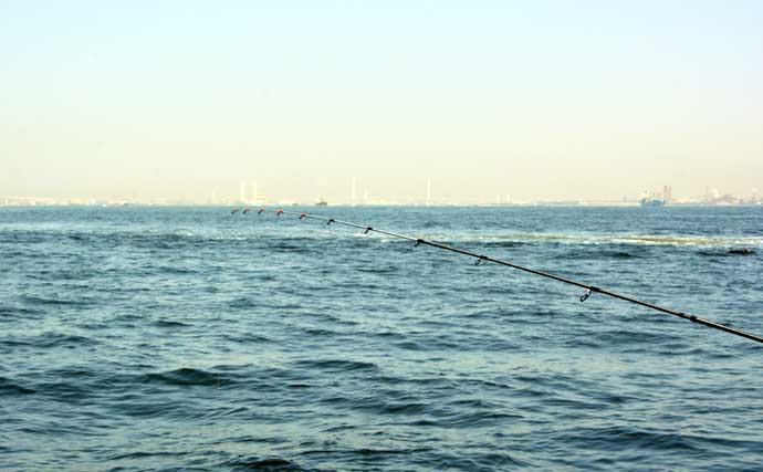 「船キス釣り」でシロギス快釣 最新テクノロジー搭載ロッドで釣果アップ