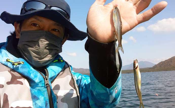 『メガワカサギ』釣りで「1,117尾」の大釣り 総重量は7.2kg【西湖】