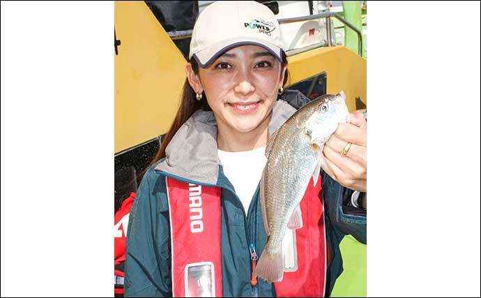 のんびり午後船で楽しむイシモチ釣り 初挑戦でも数釣り達成【荒川屋】