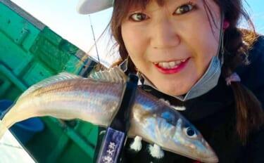 キス&カサゴリレー船で女子会釣行満喫 初心者でも2大本命手中【東京】