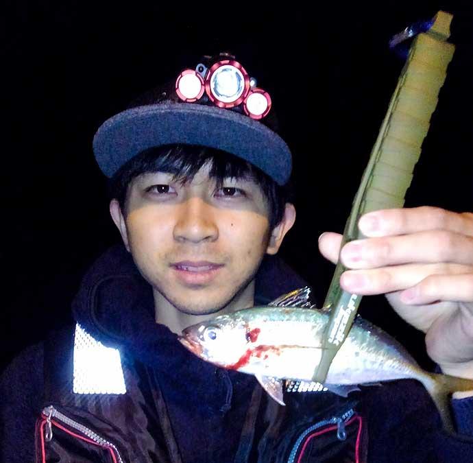 釣友と楽しむメバリング&アジング フロートリグで連発【熊本・天草】