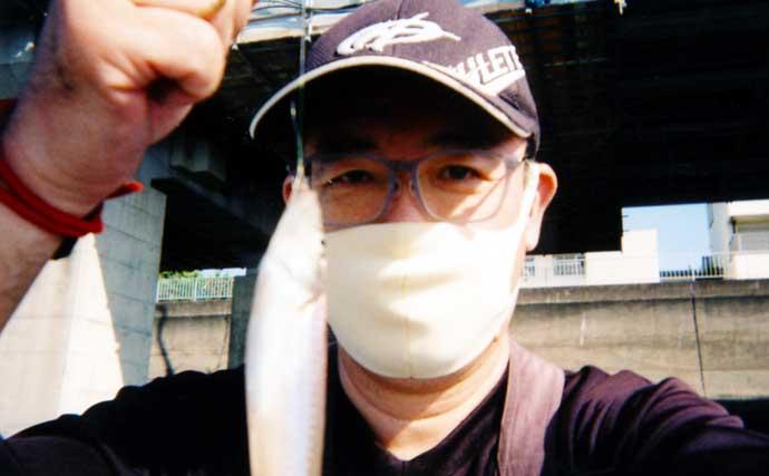 西湘サーフ『投げキス釣り』で良型含め本命3尾【神奈川・国府津海岸】