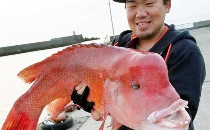 【茨城・千葉】沖釣り最新釣果情報 イワシ泳がせで1mカンダイ参上