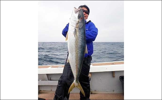 【玄界灘】沖のルアー最新釣果 タイラバで「乗っ込み」マダイ好機突入
