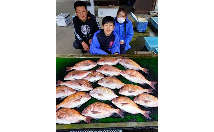 【三重】海上釣り堀最新釣果 子供と一緒に高級魚をキャッチしよう