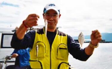 投げ釣りでシロギス調査 高めの水温で今後にも期待【静岡・沼津】