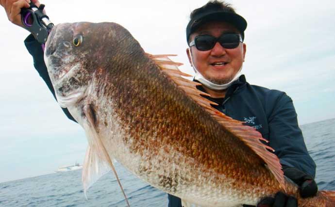 【福岡】沖のルアー最新釣果 タイラバ好調で「乗っ込み」に好期待