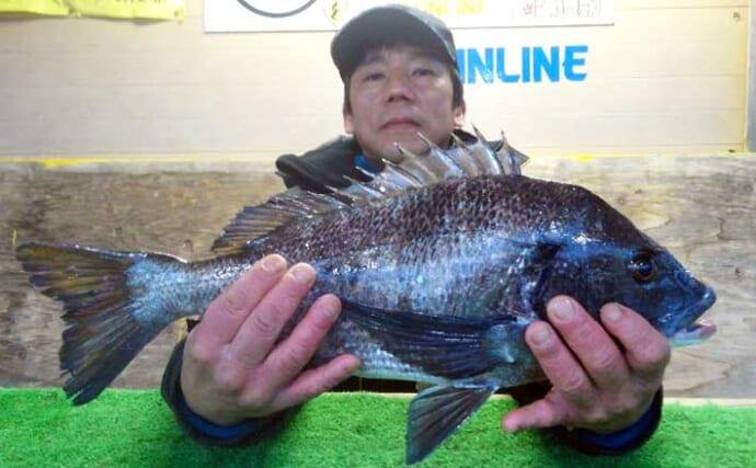 【三重】カカリ釣り最新釣果 乗っ込み突入でクロダイ数釣り狙い目