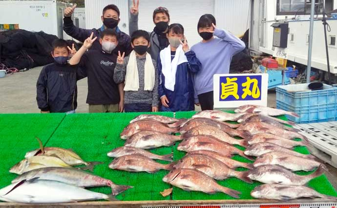 【三重】海上釣り堀最新釣果 ファミリーで気軽に短時間釣行はいかが?