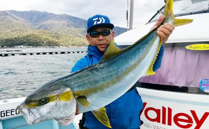 【福井・石川】沖のルアー最新釣果 ジギングで90cm超ヒラマサ&ブリ