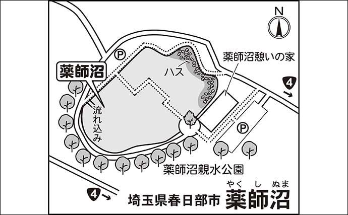 今週のヘラブナ推薦釣り場【埼玉県・薬師沼】