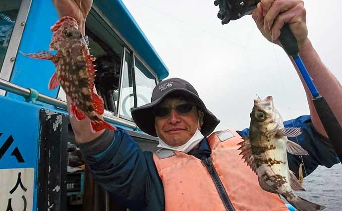 【東京湾2021】夜に船からメバルとカサゴを狙う『メバカサ』釣りの基本