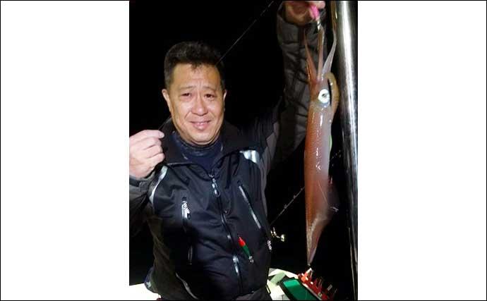 【福岡】夜焚きイカ最新釣果 シーズン開幕から100尾超えと絶好調