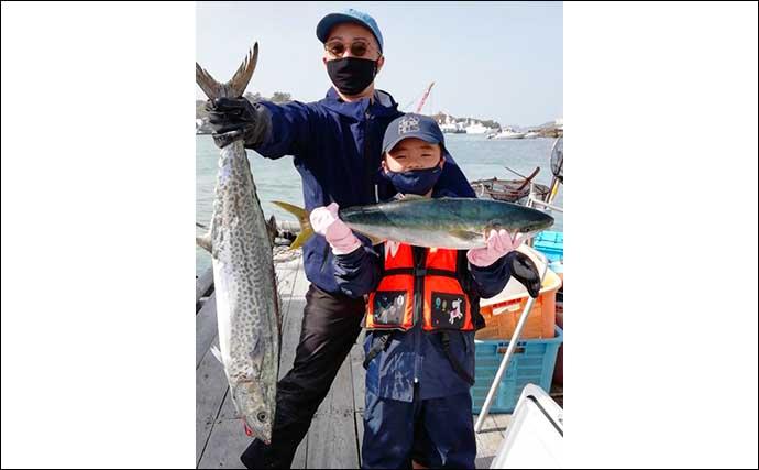 【愛知・三重】沖のルアー最新釣果 タイラバで乗っ込みマダイ好反応
