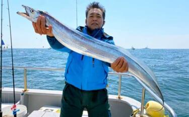 【愛知】沖のルアーフィッシンング最新釣果 ドラゴン級タチウオ登場