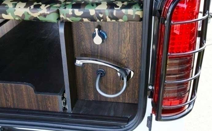 専門業者が手がける『釣り車』を紹介 営業車がアウトドア仕様に?