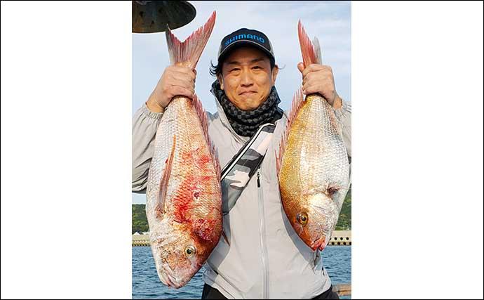 【玄界灘】沖のルアー最新釣果 キャスティングゲームで良型ヒラマサ