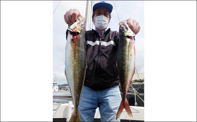 【大分】沖釣り最新釣果 食味抜群の「大型アジ」が各地で好ヒット