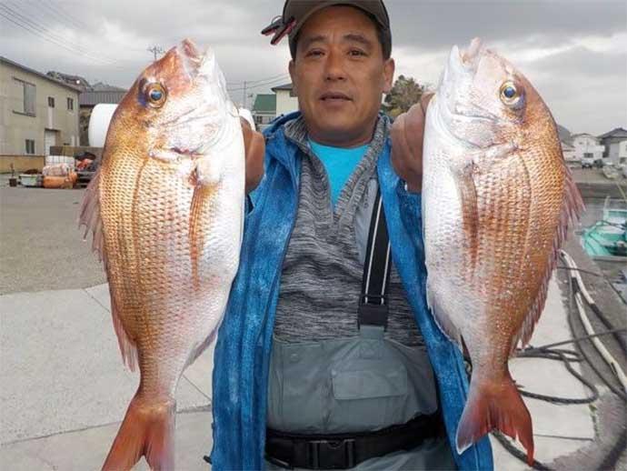 今日ナニ釣れた? 沖釣り速報:茨城のヤリイカ好調で多点掛け多数【関東】