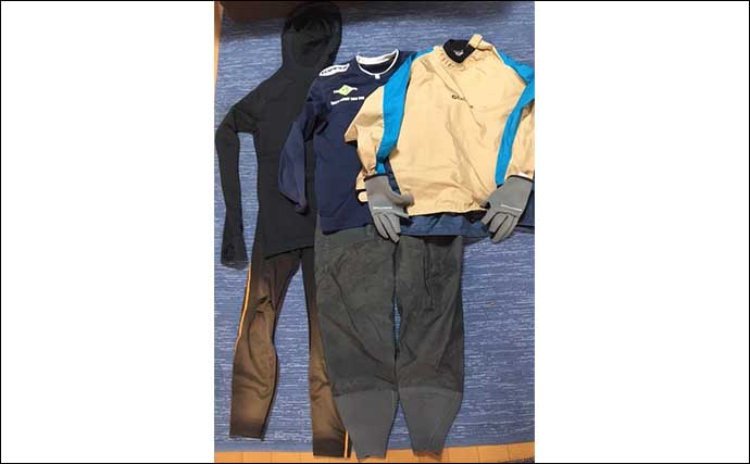 ゼロから始めるカヤックフィッシング :服装は『レイヤリング』が重要
