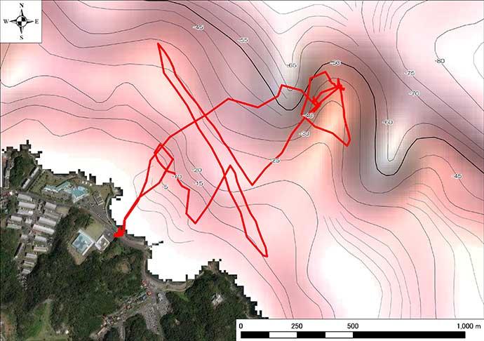 魚探無くてもボート釣り堪能 海底地形が丸見えの『赤色立体地図』とは?