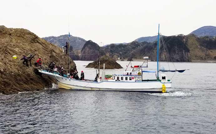 磯フカセ釣りで良型メジナ連発 不規則な潮流れを攻略【静岡・西伊豆】