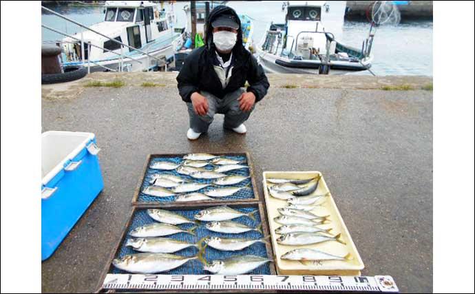 【愛知・三重】沖のエサ釣り最新釣果 ウタセ五目釣りお土産多彩で満足