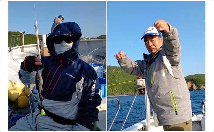 【三重】沖釣り最新釣果 大型アジ入れ食いに好ゲストはまさかのクエ