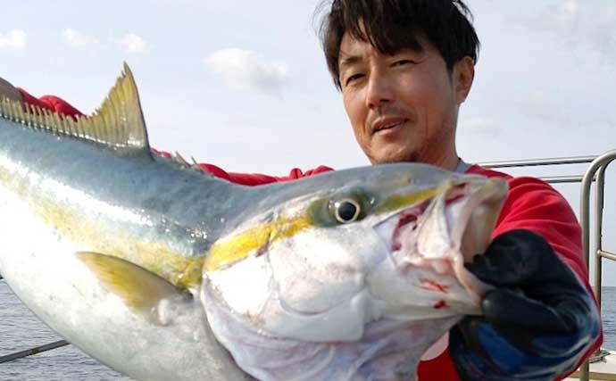 【響灘】沖釣り最新釣果 エビラバでアマダイに高級根魚タカバなど好土産