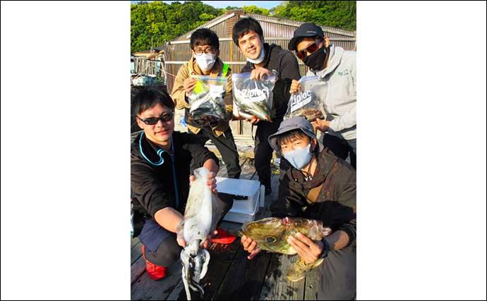 【三重】カカリ釣り最新釣果 ジュニアアングラーが48cm良型クロダイ