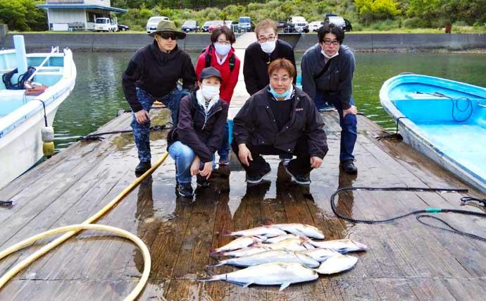 【三重】海の釣り施設最新釣果 エギングで3kg超アオリイカ登場