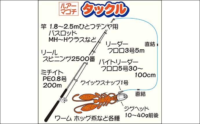 東京湾ルアーマゴチ開幕 前半苦戦も終わってみれば船中10尾【林遊船】