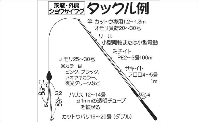 【関東2021】ショウサイフグ釣り入門 『カットウ仕掛け」が面白い