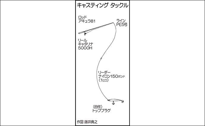オフショアジギング&キャスティングでヒラマサ・マダイ・タカバ【山口】