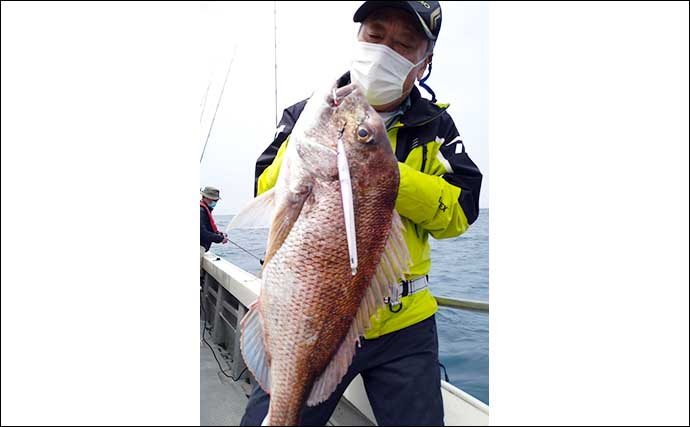 【福岡・佐賀】沖のルアー最新釣果 タイラバでアマダイ&マダイ続々